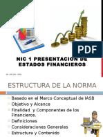 3. Nic-1 Presentación de Estados Financieros