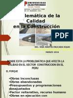 Problematica de La Construccion