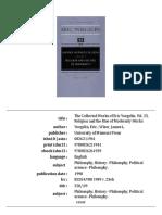 Eric Voegelin History of Political Ideas Vol.V