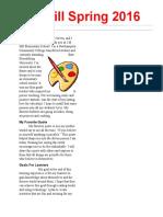 desktop publishing newsletter dgreen