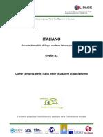 Corso Multimediale Di Lingua e Cultura Italiana Per Migranti_Livello A2