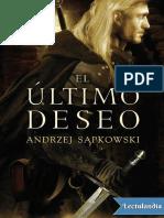 El Ultimo Deseo - Andrzej Sapkowski