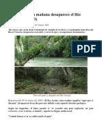 Rompiendo La Tierra Por Poder. Desaparece El Río Atoyac. Freaking Mineria y Temblores