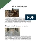 Materias Primas Para Cemento1
