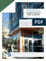Design Review Improvements