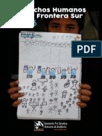 Informe Derechos Humanos en la Frontera Sur 2016