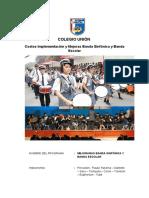 Presupuesto Para El Taller de Banda 2015-Marzo 2015
