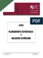 Planeamiento y Balanced Scorecard