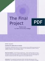 lowe maree- final project