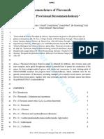 Flavonoides Recommendations