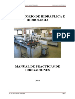 Manual de Laboratorio de Irrigaciones 2015