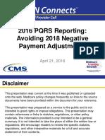 2016 04 21 Npc PQRS Overview