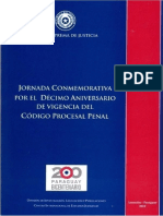 JORNADA CONMEMORATIVA CODIGO PROCESAL PENAL - ANO 2010 - PORTALGUARANI