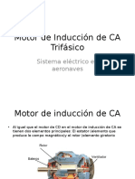 Motor de Inducción de CA Trifaísico