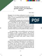 La Brecha Teoría/praxis - J.bassi