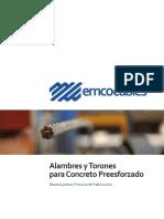 Cables y Torones Para Concreto Presforzado
