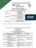 ICEHM and URUAE Final Program May 20-21, 2016, Cebu (Philippines)
