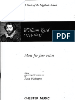 1. Byrd - Kyrie Mass for Four Voices