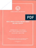 Recurso Extraordinario de Revision - Ano 2007 - Portalguarani