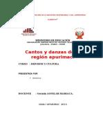 Grau Capital Folklorica de Apurimac -