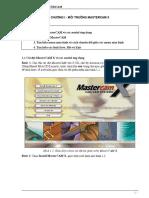 Giáo Trình Bài Giảng MasterCAM - Nhiều Tác Giả, 148 Trang.pdf
