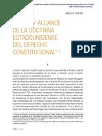 THAYER - Origen y Alcance de La Doctrina Del Derecho Constitucional Americano