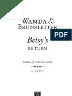 Betsy's Return 1st Chapter