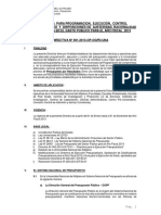 DIRECT-2013_Programacion y Ejecucion Presupuestaria