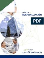 Libro Hospitalización