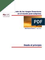 Upc Riesgos Financieros Post Subprime