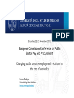 Changing public service employment relations in the era of austerity