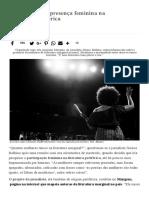 Projeto Mapeia Presença Feminina Na Literatura Periférica – Ponte Jornalismo