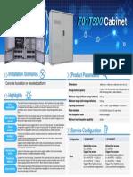 F01T500 Cabinet_datasheet 01