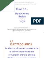 Tema 10.- Reacciones Redox