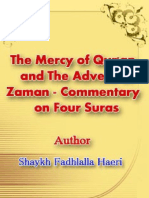 The Mercy of Quran and the Advent of Zaman by Shaykh Fadhlalla Haeri