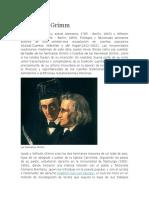 Biografia Hermanos Grimm