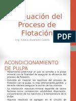 FLOTACION de MINERALES Evaluación Del Proceso de Flotación