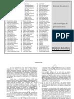 Lista Cronologica de Gobernantes Desde 1838 Hasta 2014