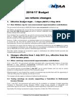 NTAA's 2016 Budget Summary (1)