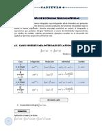 Calculo Integral Capitulo 4 - Integracion de Potencias Trigonometricas
