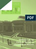 REVISTA - Tarbiya #40. Revista de investigación e innovación educativa. - El museo a tu alcance. Una experiencia educativa en el Museo Arqueológico Nacional.pdf