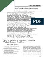 ABA Consensus Paper 2013