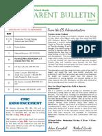 ES Parent Bulletin Vol#17 2016 May06