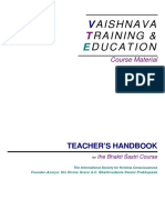 Bhakti Sastri Teachers Handbook(Colour)