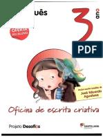 Oficina Escrita Criativa Desafios Portugues 3ºAno