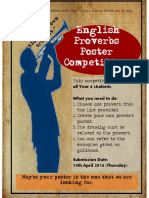 proverb poster