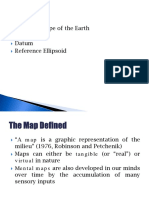 Map Projection 1