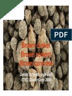 Brown Clinker