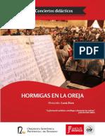 Guía Didáctica 2014 concierto