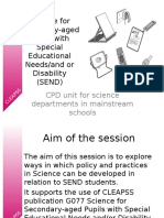 Science for Secondary-Aged Pupils With Special Educational Needs v4